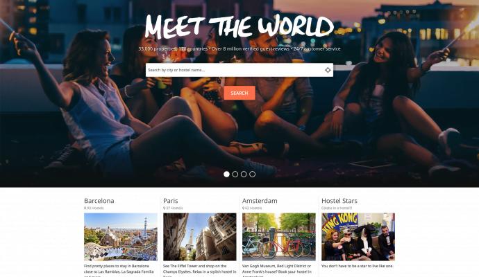 HostelWorld|青年旅館、膠囊旅館、特色民宿、廉價住宿訂房網站/背包客旅行者的最愛