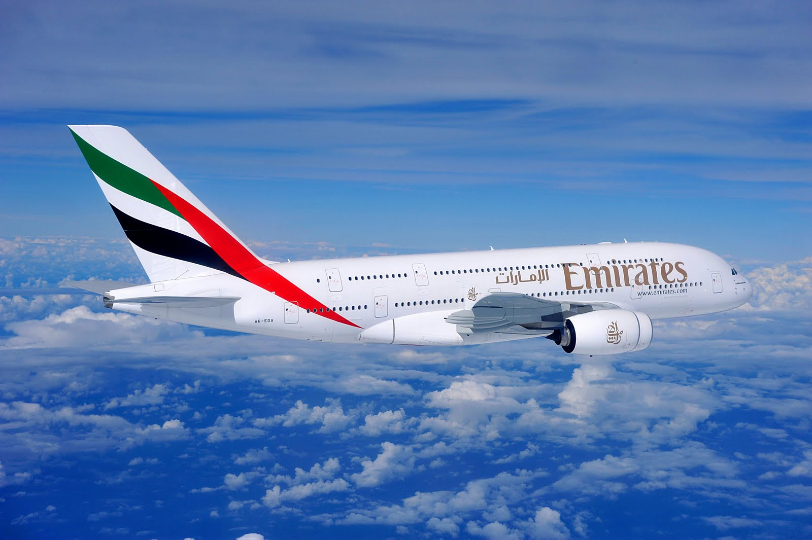 Emirates Airline 阿聯酋航空公司簡介與航班機票優惠預訂