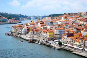 葡萄牙波爾圖的城市景觀。