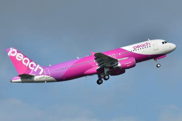 樂桃航空(Peach Aviation)2018 夏天航班開始販售