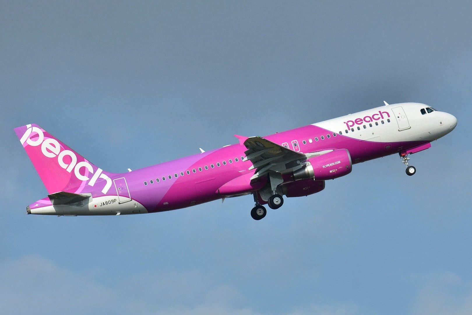 樂桃航空 8 月限時促銷 日本機票優惠 1080 起